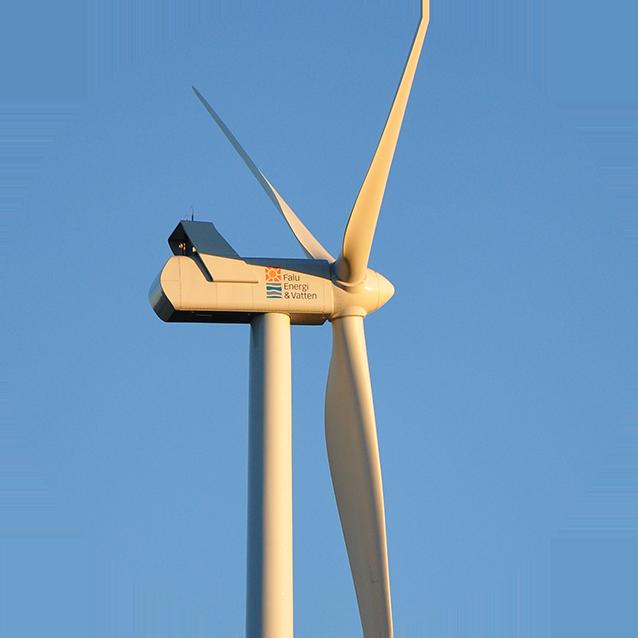 Falu Enerig Vindkraftverk båda projekten